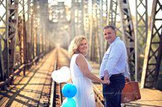 Sesja fotograficzna na rocznicę ślubu.