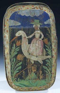 Antique German Bride's Box