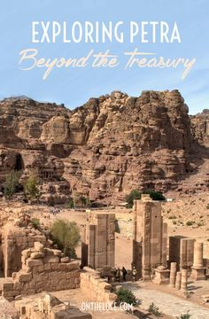 The famous Treasury is only a small part of the ancient city of Petra in Jordan – there are plenty more caves, temples, theatres and tombs to explore.