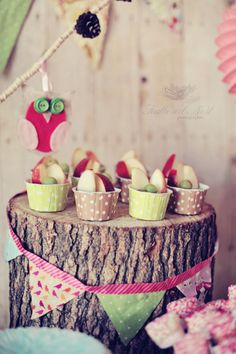 night owl party :: ♥ party for girls 1st bday or baby shower. too precious