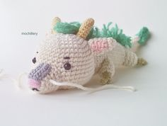 Crochet Haku from Spirited Away, chibi style by mochillery.deviantart.com on @deviantART