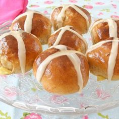 Bread Machine Hot Cross Buns for Easter or Ostara