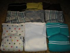 How To Sew Your Own Upcycled T-Shirt Wing Prefolds