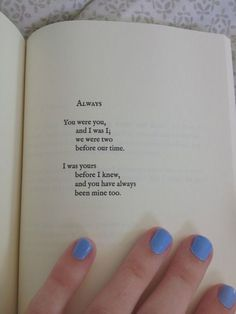 I love this!! Maybe on a sign at reception entrance?   It's from a poetry book called love and misadventures by lang leav!