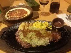 -SAIZERIYA- Diabora style rib steak $ 9.79 Doria Milanese $ 2.99 Red wine decanter $ 3.70 http://alike.jp/restaurant/target_top/508791/