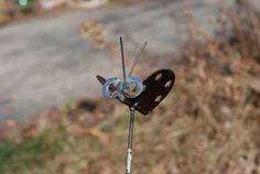 Butterfly Hinge Yard Art Recycled Metal  $9.95