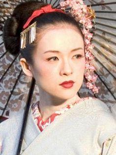 geisha hairstyles