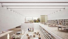 Public Architecture, Library Architecture, Education Architecture, Architecture Visualization, Light Architecture, Interior Architecture, Boutique Interior Design, Office Interior Design, Public Library Design