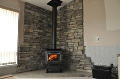 Tile Behind Wood Stoves | Loving the wood stove - Page 2 - Alberta Outdoorsmen Forum