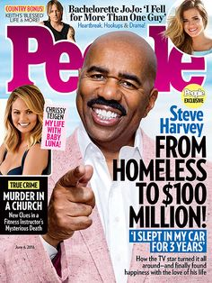 """Steve Harvey...lived in his car for a few years and struggled with multiple career failures as well as failed marriages. He didnt hit his """"purpose"""" until his 40's but now at 59 is enjoying huge blessings."""