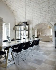 """modern living in a medieval italian castle"""