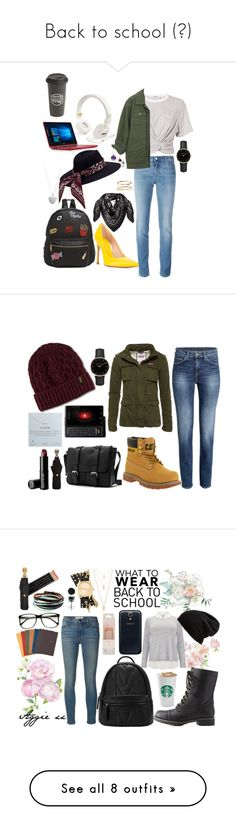 """""""Back to school (?)"""" by agathataylor1998 on Polyvore featuring Givenchy, T By Alexander Wang, Stuart Weitzman, Marshall, Ollie & B, MCM, ROSEFIELD, BERRICLE, Blue Nile and Allurez"""