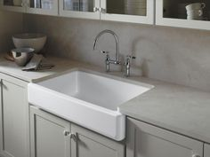 Contemporary Farmhouse Kitchen Sink  http://www.hgtv.com/kitchens/10-top-kitchen-design-trends/pictures/page-4.html?soc=pinterest