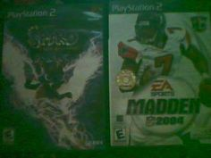 LOT OF 2 PS2 GAMES SPYRO AND MADDEN 2004