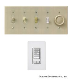 Get rid of that row of ugly switches! With a Lutron light control system you can control those same lights with a stylish keypad. http://www.lutron.com/en-US/Residential-Commercial-Solutions/Pages/Residential-Solutions/WholeHomeSolutions.aspx?utm_source=Pinterest_medium=BeforeAfter_WallAcne_campaign=SocialMedia