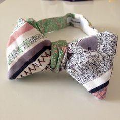 reversible bow tie by edward kwan