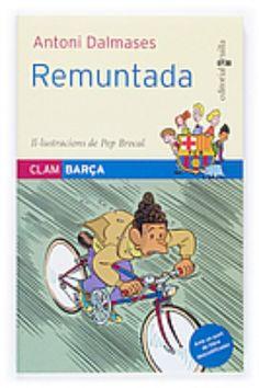 """Sèrie """"Clam Barça"""", d'Antoni Dalmases. Editorial Cruïlla.  Coberta de """"Remuntada"""" (número 5)."""