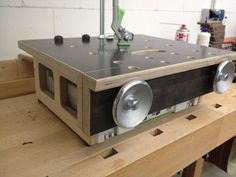 Small Benchtop Bench - Festoolstyle