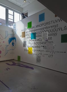 Yale University School of Art Graphic Design MFA 2014 Thesis Exhibition