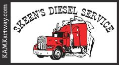 Thank you Skeen's Diesel Service for being the 2013 Title Sponsor at KAM Kartway. www.kamkartway.com