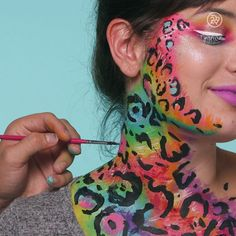Check out this Lisa Frank-inspired Beauty Look