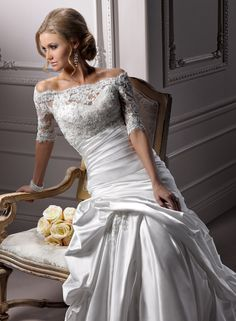 Symphony - by Maggie Sottero.  Available in Auburn bridal shop