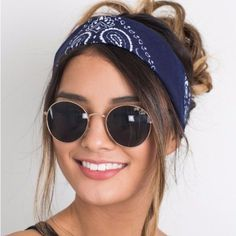 Hair Accessories For Women Fashion Bandana Scarf Square Scarf Female Bandanas Headbands For Women Accessoires Cheveux Femme Thick Headbands, Headbands For Women, Bandana Headbands, Headband Styles, Scarf Styles, Bandana Hairstyles, Hair Accessories For Women, Hair Jewelry, Hair Clips