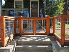 hog wire gate idea