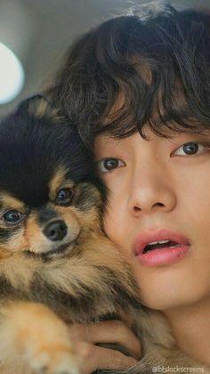 Jung So Min, Kim Taehyung Funny, V Taehyung, Foto Bts, Bts Dogs, V Smile, V Bts Cute, Taehyung Photoshoot, K Wallpaper