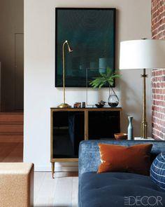 design details in a living room