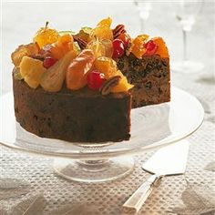 Christmas cake (suitable for people with gluten, wheat and dairy allergies) recipe. A lovely, moist Christmas cake that can be enjoyed by everyone, including those allergic to gluten, wheat or dairy