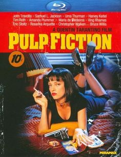 Pulp Fiction [Blu-ray] [English] [1994] - Front_Standard