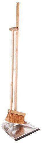 Esschert Design Dustpan and Broom Tall