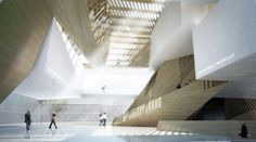 Musee National des Beaux Arts du Quebec proposal | Saucier + Perrotte Architects