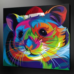 CHRISTMAS HAMSTER CANVAS PRINT PICTURE WALL ART VARIETY OF SIZES FREE UK P&P | eBay
