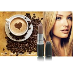 MAC Lipstick in FRESH BREW. The new classic lip color creates a soft brown like a buttery, blonde cup of coffee or a salted chocolate caramel. The perfect mix of a nude and a brown.