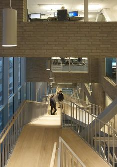 DNB Bank Headquarters by MVRDV - look of offices & classroom