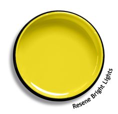 Resene Curiosity is a sweet and sour yellow based green, so fresh it bursts with frivolity. View this and of other colours in Resene's online colour Swatch library Colour Schemes, Color Trends, Color Combos, Color Palettes, Trending Paint Colors, Interior Paint Colors, Paint Colours, Interior Design, Duck Egg Blue