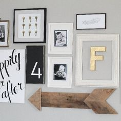 Follow these easy, step-by-step instructions to create a gorgeous, rustic Wood Pallet Arrow!