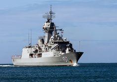 "Royal Australian Navy HMAS Perth FFH-157 Pearl Harbor June 28, 2012 - 5 x 7"" Photograph"