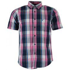 Chemise à carreaux bleus, rose et blancs par Best Mountain - Dégriff Stock  Tendance et style avec cette chemise Best Mountain ea9c44d93495