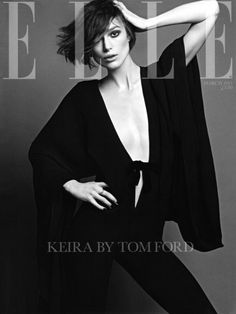 Keira Knightley for Elle UK - March 2011 - short hair