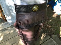 Western riding/show chaps