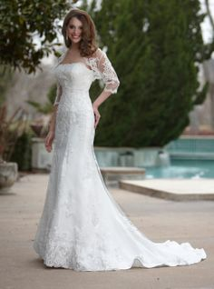 DaVinci Bridal is your ultimate destination for Bridesmaid Dresses, Designer wedding gowns and best bridal dresses online. Davinci Wedding Dresses, Chapel Wedding Dresses, Bodice Wedding Dress, Wedding Dresses 2014, Cheap Wedding Dress, Wedding Dress Styles, Bridal Dresses, Wedding Gowns, Lace Wedding
