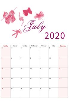 July 2020 calendar printable - July 2020 calendar printable, Are you looking for January to December 2020 calendars? Get our monthly calendar bundle. June Calendar Printable, July Calendar, Print Calendar, Printable Planner, Free Printables, New Month Wishes, New Month Quotes, January To December, Be Yourself Quotes