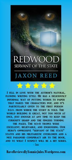 5-Star review Redwood: Servant of the State by @AuthorJaxonReed #RRBC Spectacular read, check it out today!