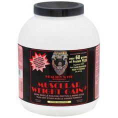 Healthy N Fit Muscular Weight Gain,Vanilla Flavor, 4.4 LB