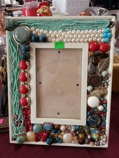 Jewelry Picture Frame