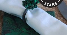 DarbySmart shares a how-to for DIY malachite napkins and coasters. Holiday Gift Guide, Holiday Gifts, Holiday Decor, Diy Coasters, Malachite, Hip Hip, Inspiration, Home Decor, Xmas Gifts