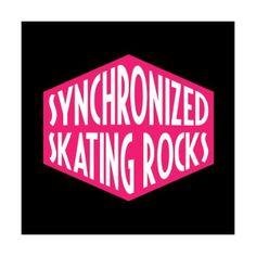 """~ """"Synchronized Skating Rocks"""""""